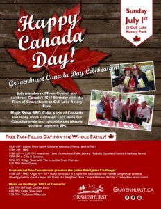 Canada Day in Gull Lake Park